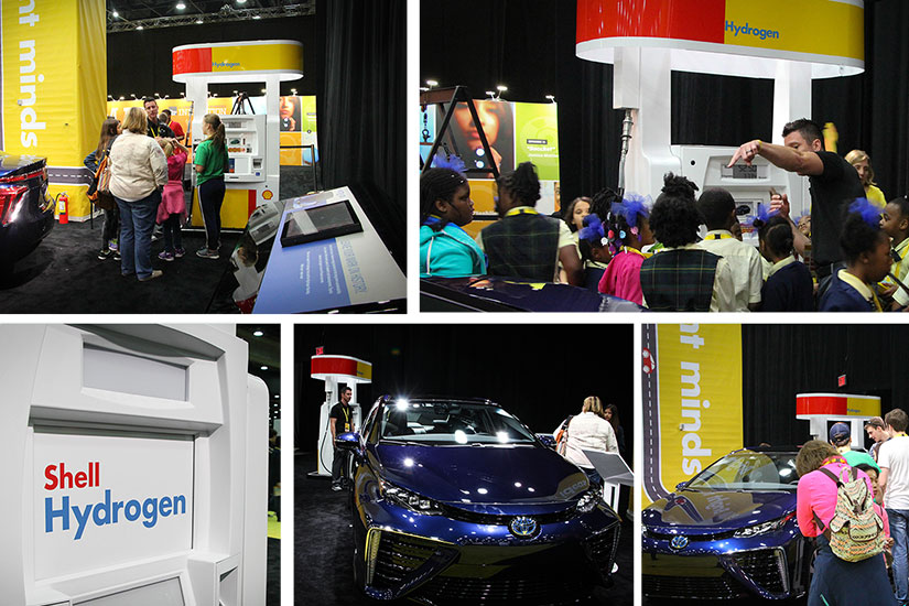 Bennett Pump Assists with Shell Eco-Marathon by displaying LNG and Hydrogen dispensers